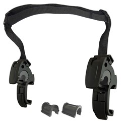 Immagine di ORTLIEB QL2.1 mounting hooks (16-mm) and adjustable handle